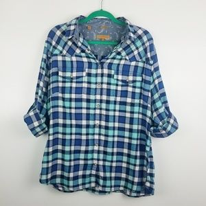 Jach's Girlfriend Bea Plaid Flannel Long Sleeve